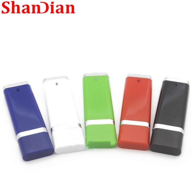 SHANDIAN thời trang Sáng Tạo 4 Màu 32 GB 64 GB Kinh Doanh Ổ Đĩa Flash USB Ngón Tay Cái Bộ Nhớ ổ đĩa Flash Stick Bút sinh nhật cá tính