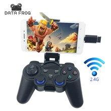 Джойстик для Android Смартфон 2.4 Г Беспроводной Геймпад для PS3 Игры контроллер для Xiaomi TV BOX VR КОРОБКА Джойстики для ПК Mac