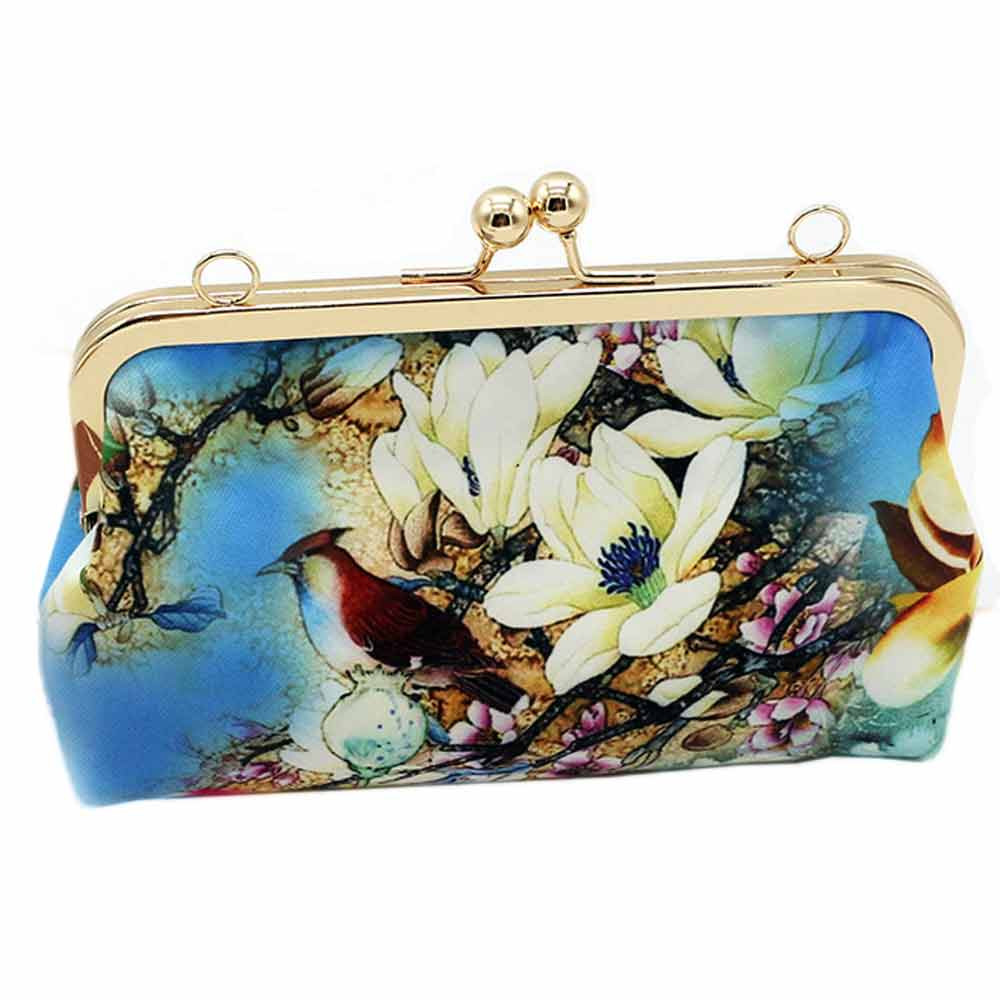 Women Fashion Vintage Leather Shoulder Bag Wallet Hasp Purse Clutch Bag MAY28
