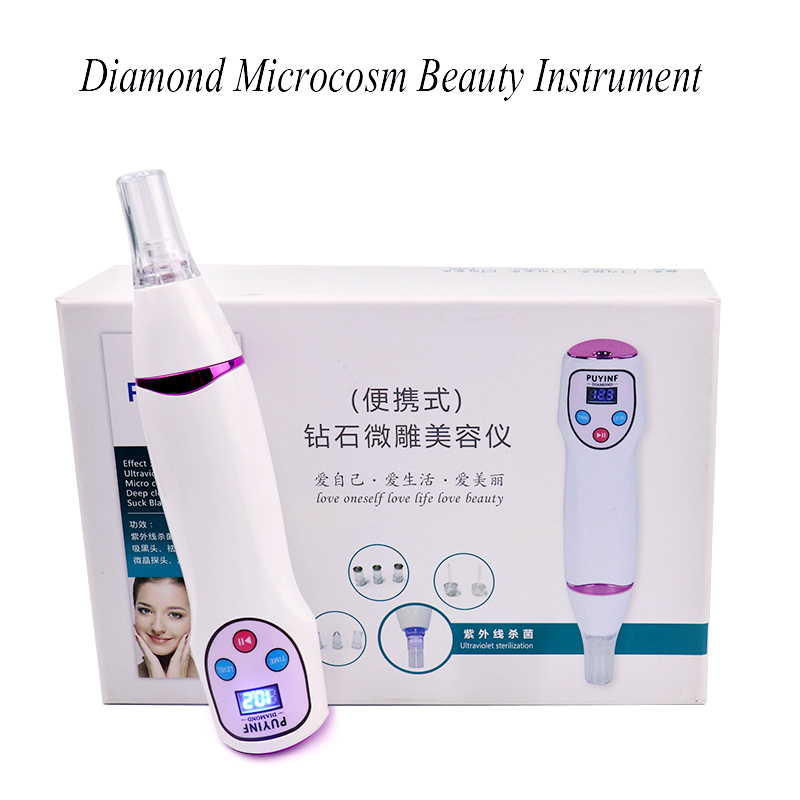 Vacuum Suction Face Acne Blackhead Removal Nose Black Spot Dead Skin Remover Pore Cleansing Beauty instrument Skin Care MassagerVacuum Suction Face Acne Blackhead Removal Nose Black Spot Dead Skin Remover Pore Cleansing Beauty instrument Skin Care Massager