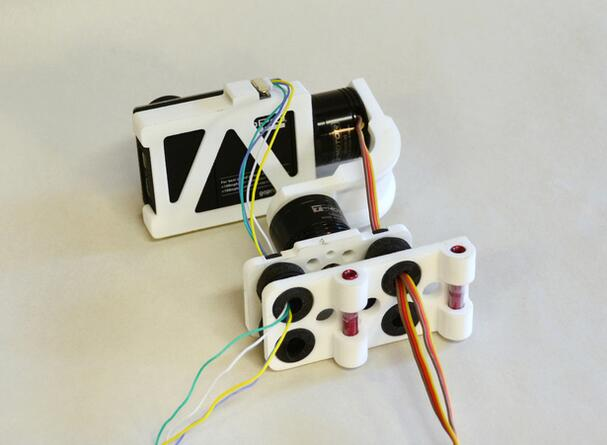 3D Printed Gopro Hero3 Brushless Gimbal for TBS Discovery Quadcopter