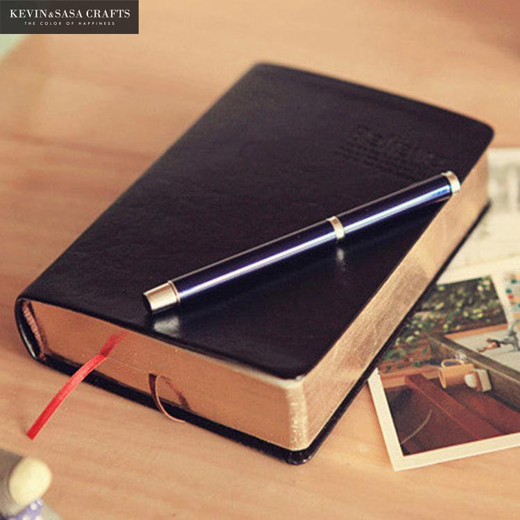 Vintage Thick Paper Notebook 480Pages 17*12cm Leather Diary Book Journals Agenda Planner School Stationery Supplies Notepad