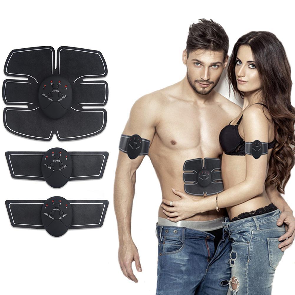 Électrique EMS Sans Fil Stimulateur Musculaire Abdominale de Remise En Forme Intelligente Dispositif de Formation Corps Soins de Beauté Tool Set