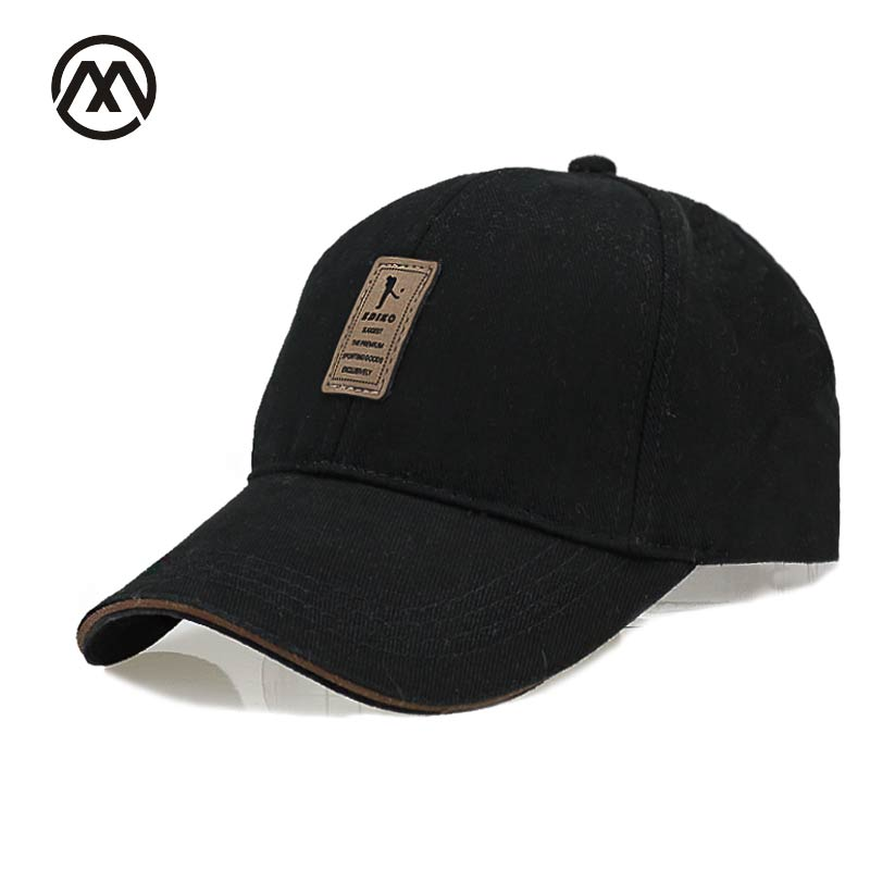 Golf Logo Cotton dad Baseball Cap Sports Casual Golf Snapback Outdoor Simple Solid Hats For Men Bone Gorras Casquette Chapeu