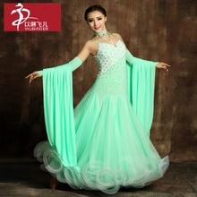 Ballroom Competition Dance Dress Modern Waltz Tango Standard Dress S9001  /Ballroom Dance Competition Dresses