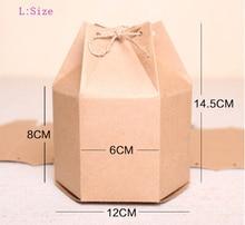 Wholesale Free shipping 70pcs/lot 12*8*14.5cm fashion big size wedding kraft paper biscuit pacakging box tea packaging box