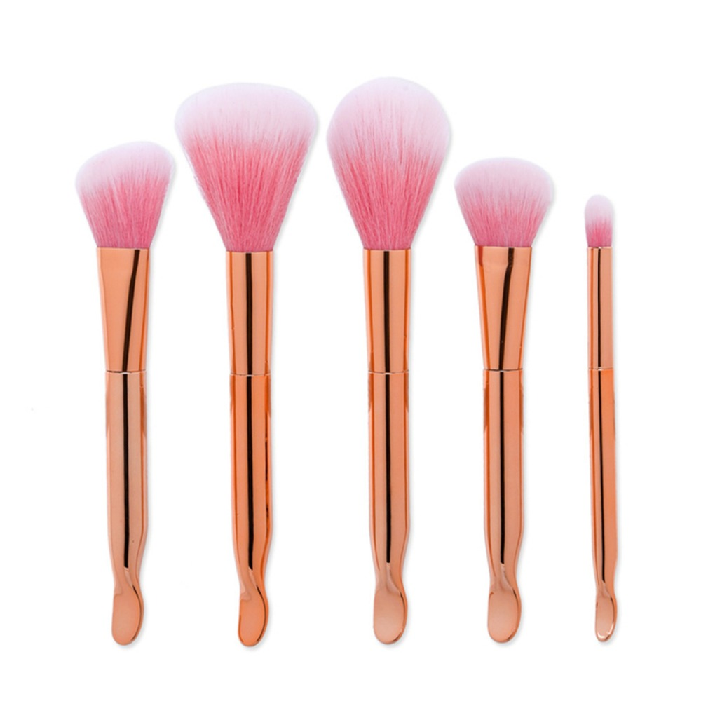 Розовое золото Волшебная палочка Макияж Расчёски для волос набор Магия составляют Средства ухода для век хэдоу Основа для макияжа лица Сре...