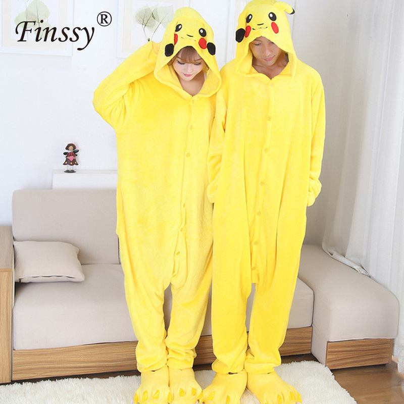 pocket-font-b-pokemon-b-font-pikachu-cosplay-costume-lovely-adult-pajamas-halloween-funny-clothes-for-men-and-women