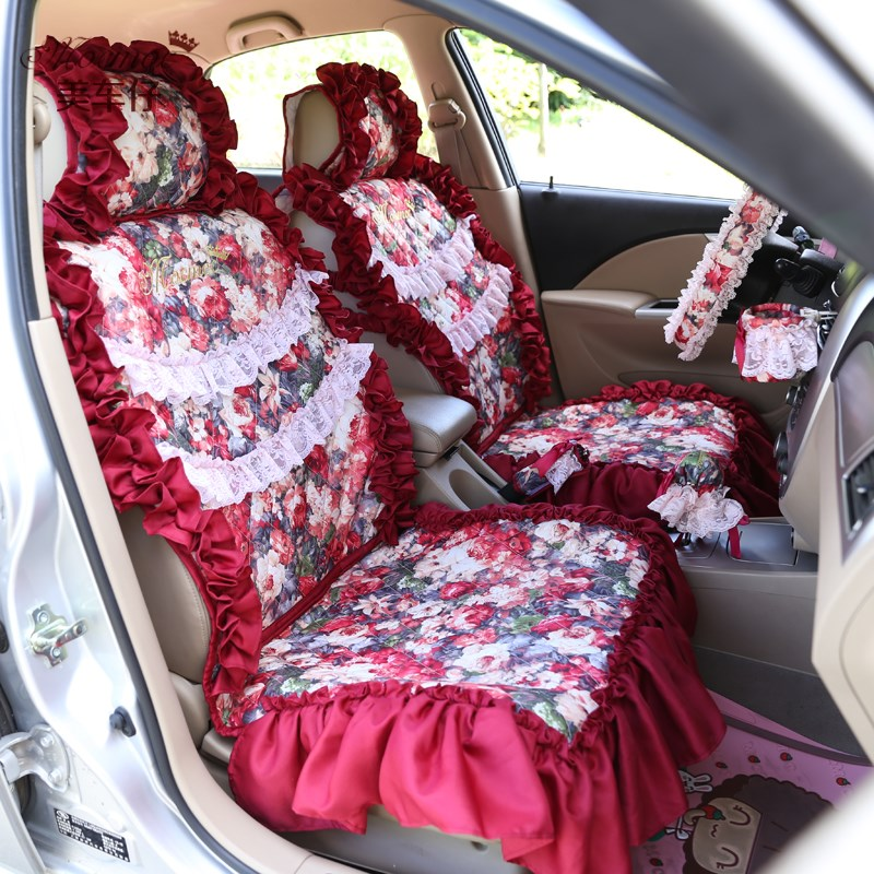 Online Get Cheap Red Car Seat Cover Aliexpress Com