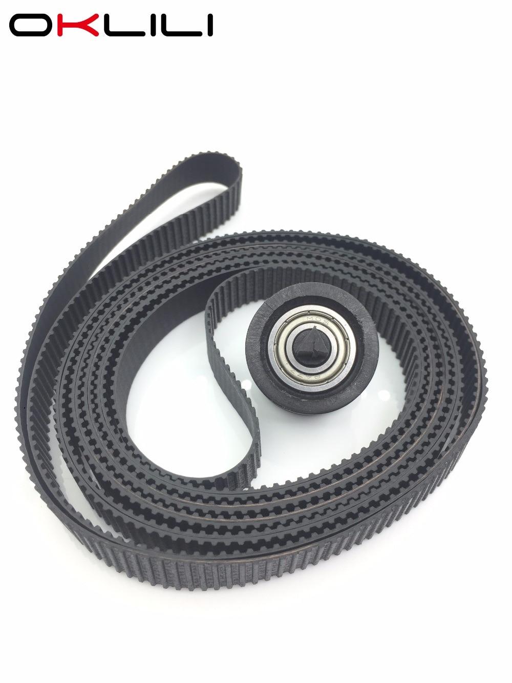 Carriage Belt com Polia 24 C7769-60182 ''24 polegada A1 para HP DesignJet 500 500 ps 510 510 ps 800 800 ps Plus 4500 820 MFP 4020 T620