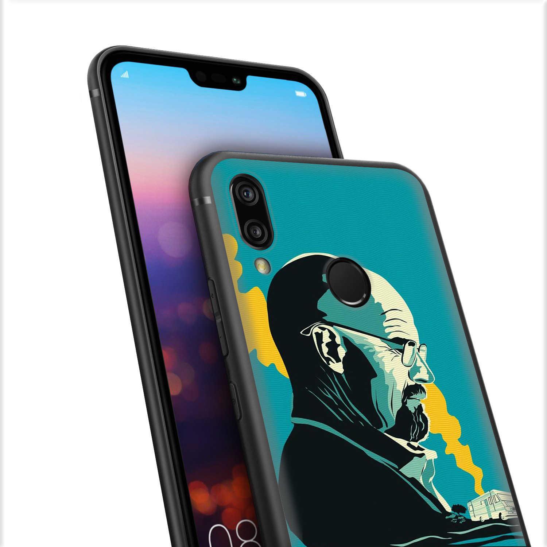 Lavaza Breaking Bad per il Caso di Huawei P8 P9 P10 P20 P30 Y6 Y7 Y9 Lite Pro P Smart Nova 2i 3i Mini 2017 2018