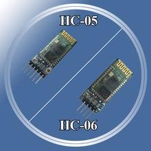 HC-05 HC05 беспроводной модуль для Arduino Серийный 6 Pin Bluetooth/HC-06 4 Pin радиочастотный приемник приемопередатчик модуль RS232 главный раб