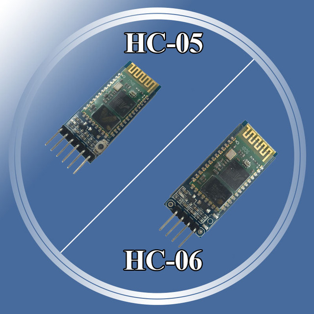US $2 95 |HC 05 HC05 Wireless Module For Arduino Serial 6 Pin Bluetooth /  HC 06 4 Pin RF Receiver Transceiver Module RS232 Master Slave -in  Integrated