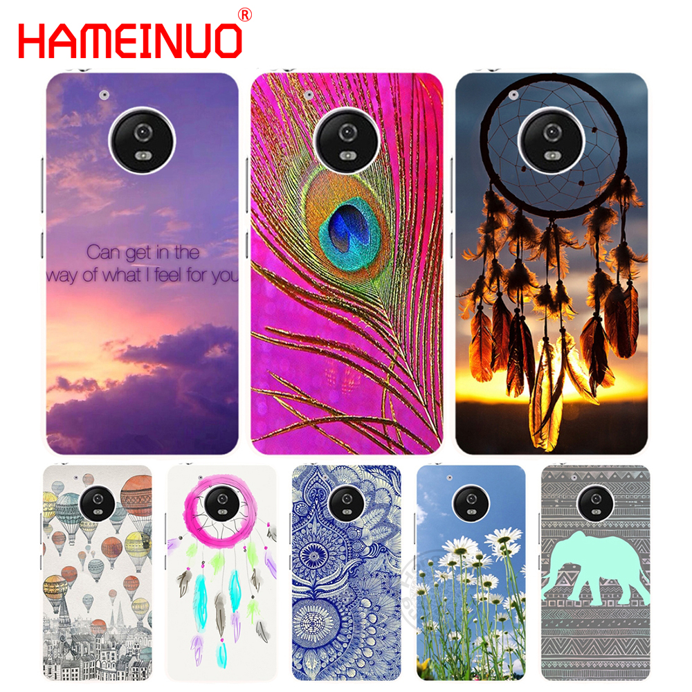 HAMEINUO Natural Flower Animals Pattern case cover for For Motorola moto G6 G5 G5S G4 PLAY PLUS ZUK Z2 pro