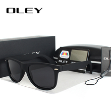OLEY Unisex Square Sunglasses women Polarized Men Sun Glasses Brand designer classic Vintage spectacles Accessories Oculos Y2140