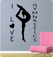 9836 Yoga Wall Stickers Yoga Poses OM AUM WALL VINYL STICKER DECALS ART MURAL Yoga Wall