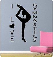 9836 Yoga Wall Stickers Yoga Poses OM AUM WALL VINYL STICKER DECALS ART MURAL Yoga Wall