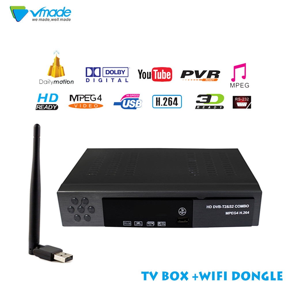 Satellite font b Receiver b font HD Digital DVB T2 DVB S2 font b TV b