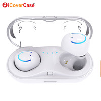 Twins Earphone Bluetooth Headphone For Xiaomi Mi 9 Lite Mi9 Se 8 Pro Case Mobile Earbud Wireless Power Charger Bank Charging Box