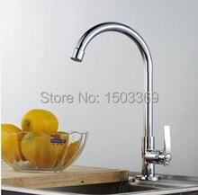Материал высокого качества латунь chrome одноместный холодной однорычажный ванная комната кухонный кран раковина кран бассейна кран смесителя