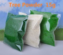 15g Artificial Tree Powder Sand Table Model Decor Micro Landscape Decoration Home Garden DIY Accessories Building Model Material(China)