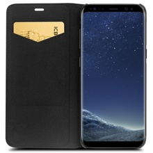 QIALINO Genuine Leather Flip Case for Samsung Galaxy S8 S8Plus
