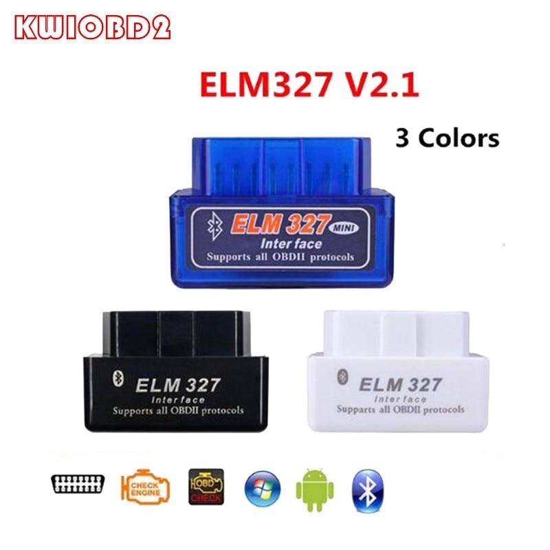 ELM327 V2.1 Bluetooth OBD OBD2 считыватель кодов CAN-BUS поддержка многобрендовых автомобилей многоязычный ELM 327 BT V2.1 работает на Android/PC