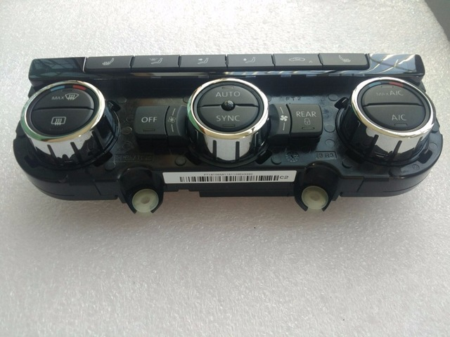 For Vw Passat B7 Climatronic Control Panel And Seat Heating And