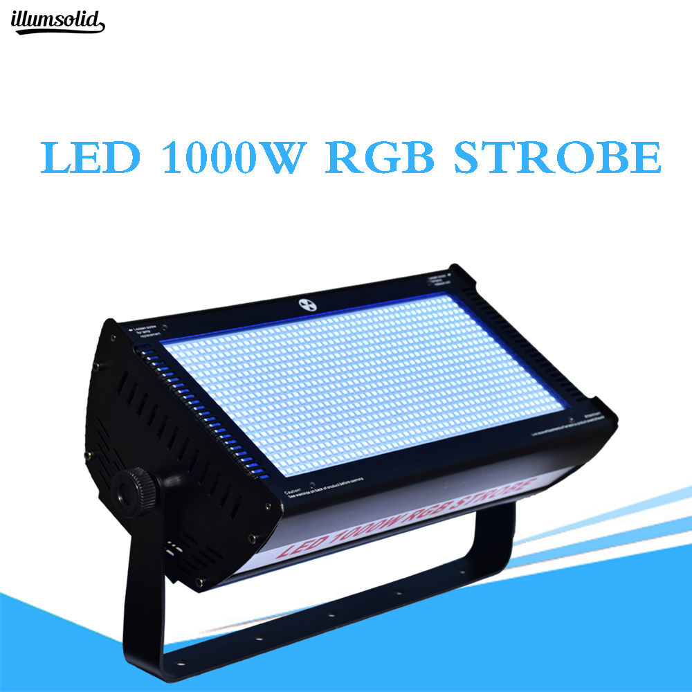 1000w Led Rgb Strobe Specialized Stage Lighting Equipment Dj Flash F Disco Party KTV Stage