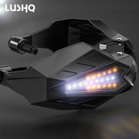LED Motorcycle Handguards Motocross for honda xr 250 suzuki rf ktm exc v strom 650 dl suzuki yamaha r6 2005 cafe racer bmw