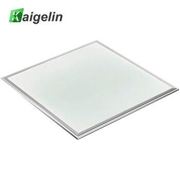 Kaigelin لوحة اضواء مربعة ليد 600x600 36 W SMD4014 مصباح أسقف لوحي led مكتب AC100-240V الألومنيوم الصناعية السقف مصباح