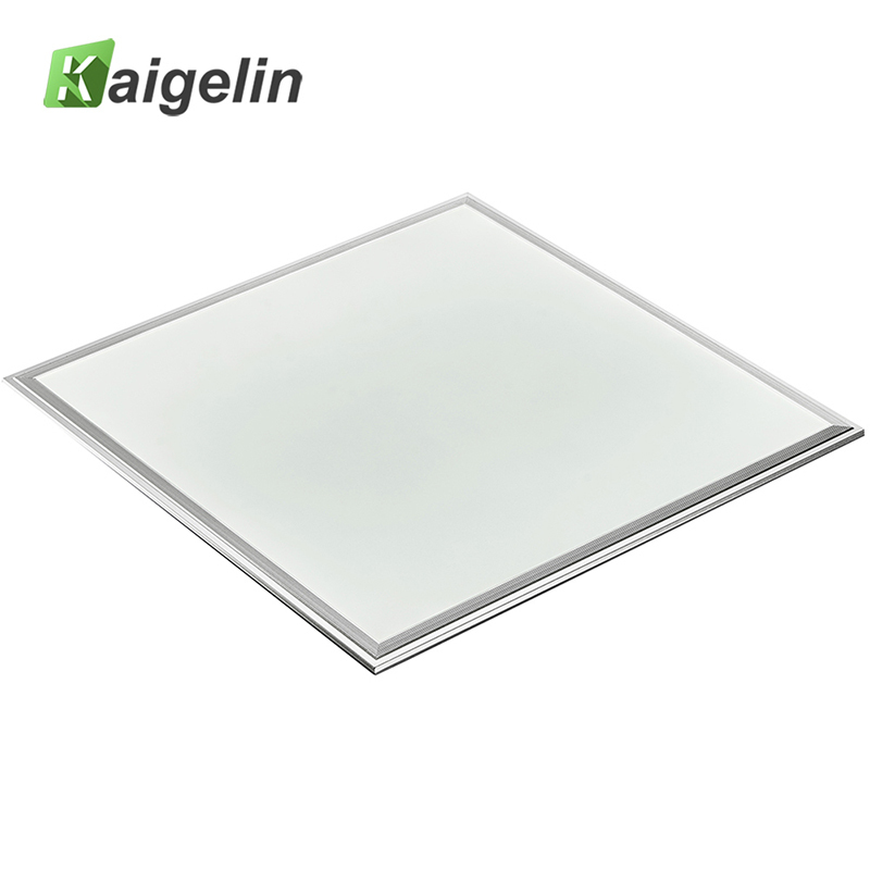Kaigelin Square LED Panel Light 600x600 36W SMD4014 LED Ceiling Panel Light Office AC100-240V Aluminum Industrial Ceiling Lamp