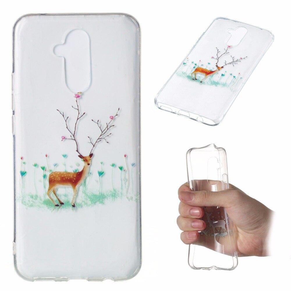 Christmas Lights Phone Case For Huawei Nova 3I Lite Mate 20 Lite Y7 Y6 Y5 Soft Cover For Huawei Enjoy 7S Honor 10 9Lite