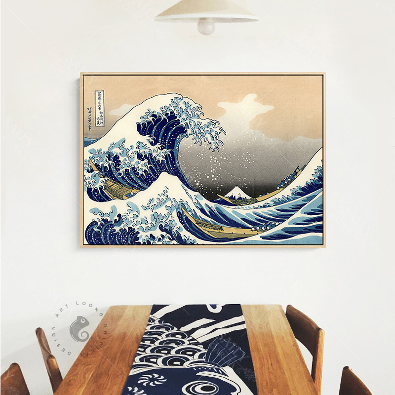 HTB1L5Q5d79E3KVjSZFGq6A19XXa5 Hd Print Canvas Paintings Japanese Style Traditional Posters Wave Kanagawa Vintage Wall Art Picture For Living Room Home Decor