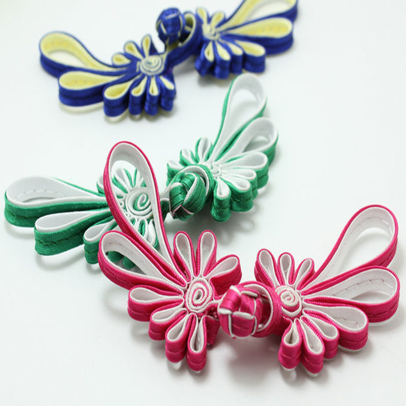 Arts,crafts & Sewing 1pcs Fashion Cheongsam Button Chinese Style Leaves Handmade Shirt National Wind Wedding Invitation Tang Suit Diy Accessories Spare No Cost At Any Cost
