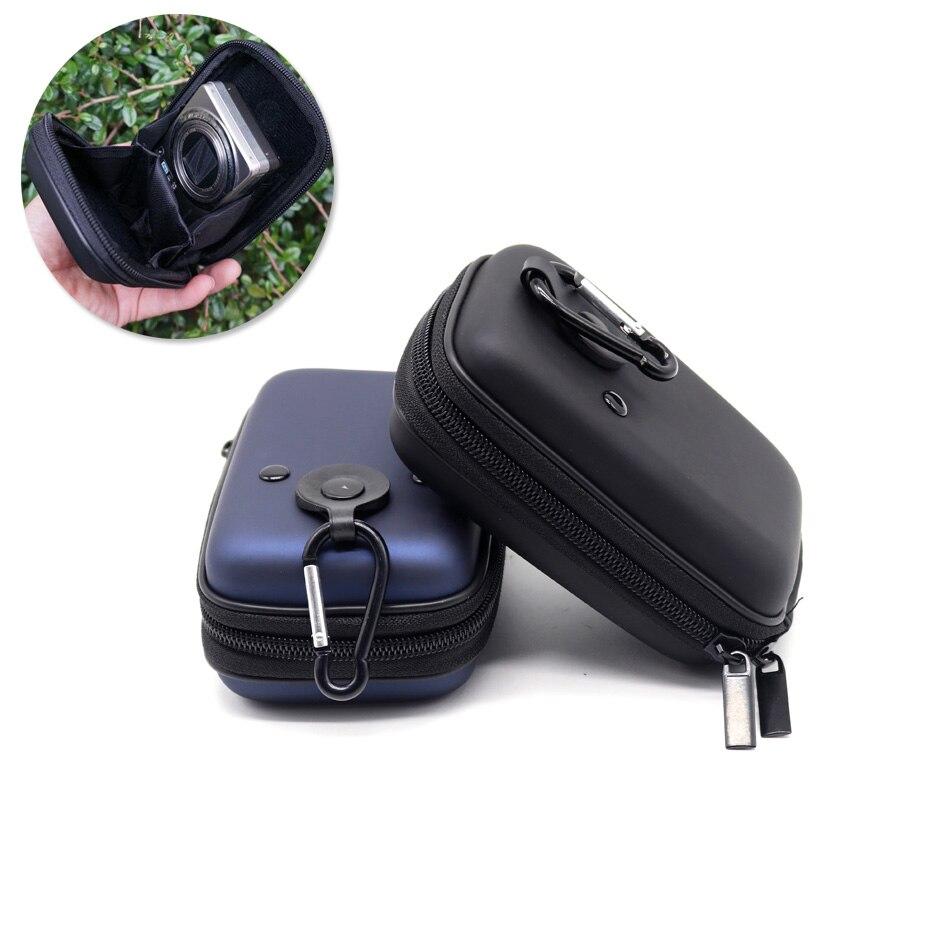 EVA Digital Camera Bag Case for Olympus TG-4 TG3 SH2 SH-3 SH-2 SH-1 TG-4 TG-3 TG-860 TG-850 SZ-17 SZ-16 SZ15 SZ31 with Carabiner