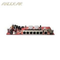 Przemysłowe moduł przełączający 9 port gigabit SFP moduł przełączający wsparcie AF/w wifi most zewnętrzny cpe przełącznik sieciowy 1000 mb/s