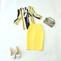 New spring fashion professional women skirt suit summer elegant formal blazer and skirt office ladies uniforms