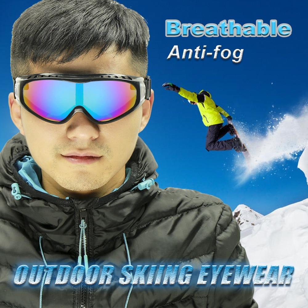 Сноуборд пыле Солнцезащитные очки для женщин Пейнтбол Спорт на открытом воздухе ветрозащитный очки Очки мотоцикл лыжные очки Объектив Рам...