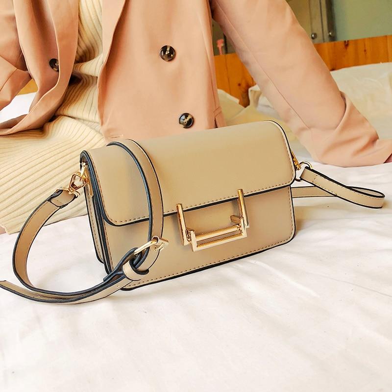 Small Women Bags PU leather Messenger Bag Clutch Bags Designer Mini Shoulder Bag Women Handbag bolso mujer purse sac a main femm 2