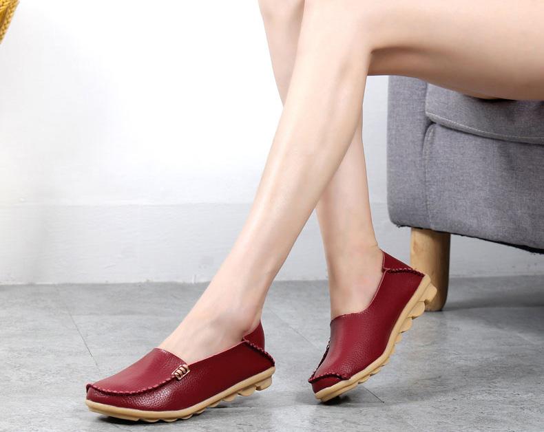 AH912 (28) women's loafers shoe