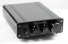 2017 * conector de Audio Hifi FX-502E 2.0 Altavoz de la Computadora de Escritorio de Alta Potencia Pura LM1036 Amplificador de Potencia de Audio Digital 68 W + 68 W
