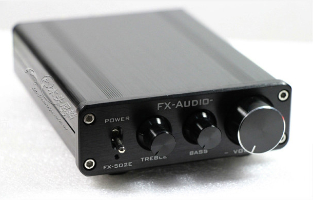 2019 FX-Audio FX-502E Hifi 2.0 Computer Desk Full Digital Audio Amplifier Power Output 68W*2 Bass Treble Individually Adjustment