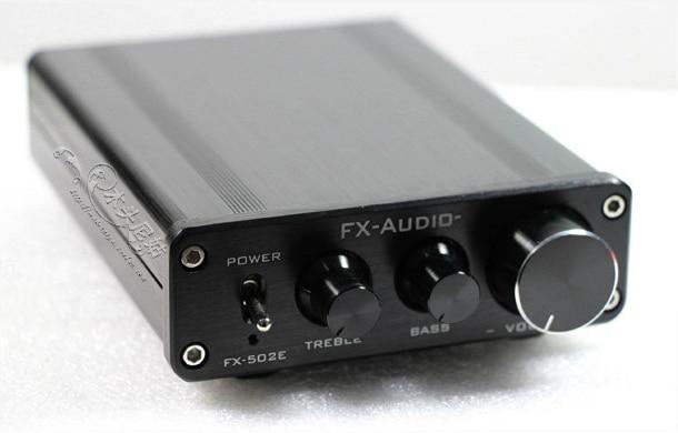 fx audio fx502e - 2019 FX-Audio FX-502E Hifi 2.0 Computer Desk Full Digital Audio Amplifier Power Output 68W*2 Bass Treble Individually Adjustment