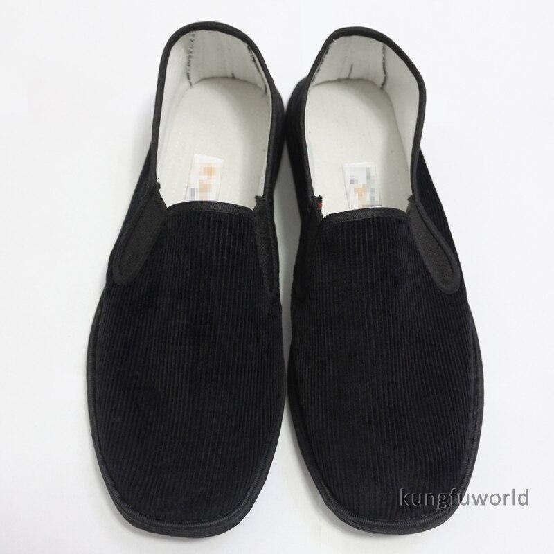 Popular Chinese Cloth Wing Chun Kung Fu Shoes Tai Chi Sneakers Taekwondo Martial Arts Sports Footwear