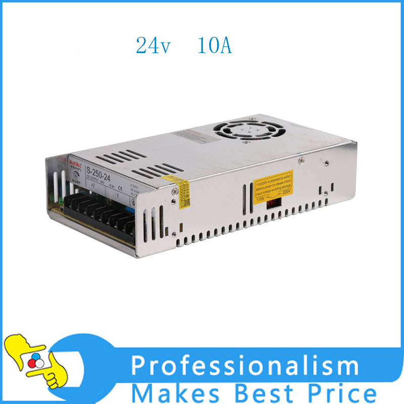 Hot Sale 240W 24V 10A  Adjustable Switching power supply unit for LED Strip light Universal AC-DC Converter 60w 24v 2 5a single output uninterruptible adjustable switching power supply unit for led strip light universal ac dc converter