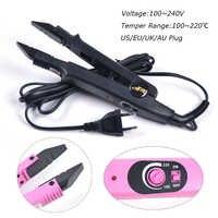 Горячий инструмент для наращивания волос Fusion, устройство для наращивания волос с подогревом