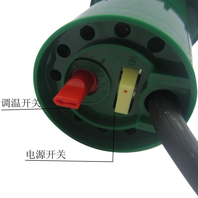 220 В 1000 Вт пластиковая Сварочная горелка термостат Сплит горячего воздуха пистолет промышленного класса Электрический отопительный инстру... - 4