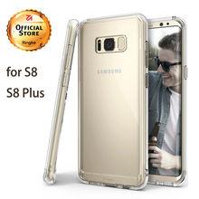 Ringke Fusion для Galaxy S8 чехол Гибкая ТПУ and Ясно Твердый переплет Гибридный чехол для мобильного телефона для Galaxy S8 плюс в наличии