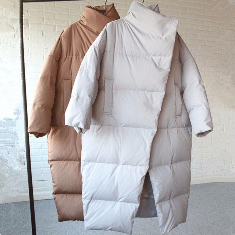 Épaissir caramel Long Col Wyf147 Taille La Parkas Coréenne Femmes Veste Mode gray D'hiver Plus Feminina Outwear Manteau Color Haut Coton Lâche Jaqueta Black tqYtR0